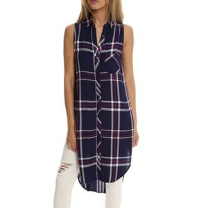 NEW • Rails • Jordyn Plaid Button Down Dress